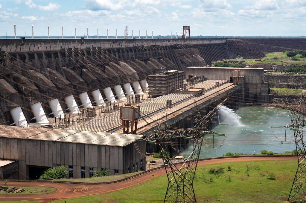 matriz elétrica - hidrelétrica de Itaipu