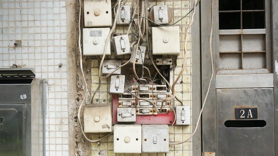 5 erros mais comuns em instalações elétricas